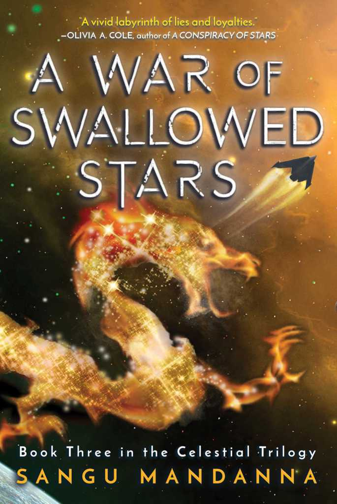 cover for A War of Swallowed Stars