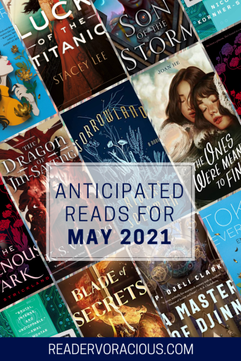 Anticipated Reads for May 2021