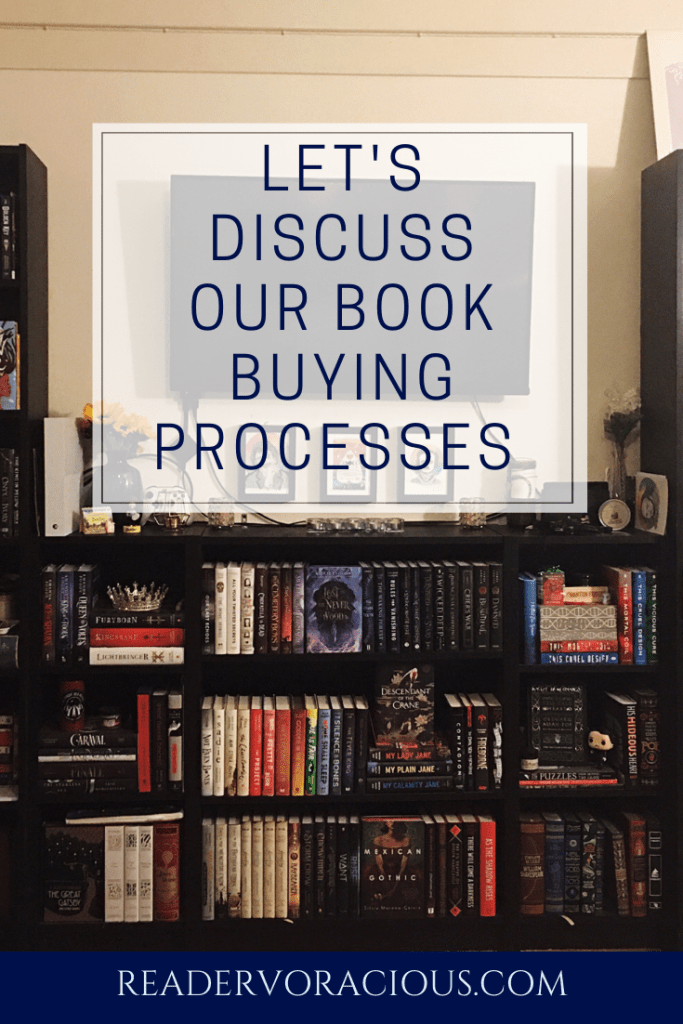 Let's Discuss our Book Buying Process