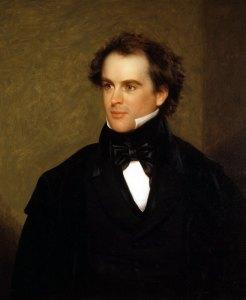 Nathaniel Hawthorne portrait by Charles Osgood