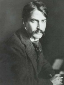 B & W Photo of Stephen Crane