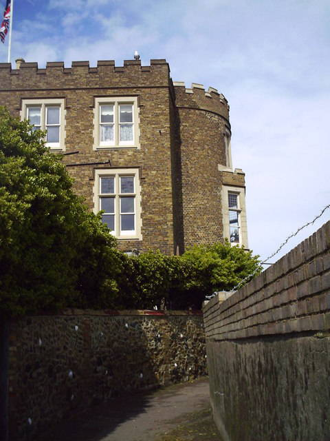 Photo of Bleak House, Broadstairs, Kent, on which Dickens modeled fictional Bleak House
