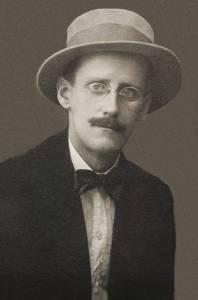 James Joyce. Photo by Alex Ehrenzweig, 1915.*