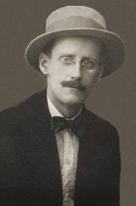 James Joyce. Photo by Alex Ehrenzweig, 1915.*