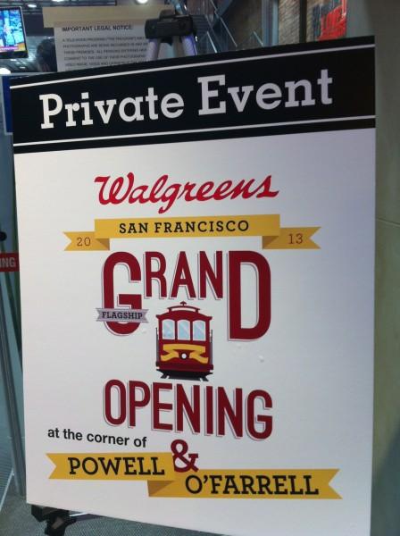 San Francisco Walgreens Flagship Grand Opening 1