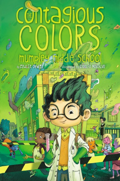 Contagious Colors Book Cover