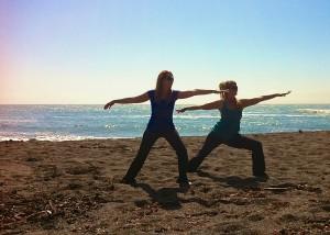 Yoga Warrior 2 Pose