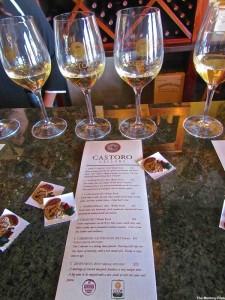Castoro Cellars' White Wine