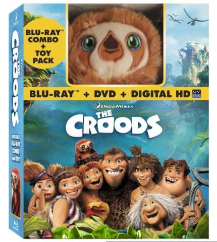 Croods Blu-ray DVD Plush