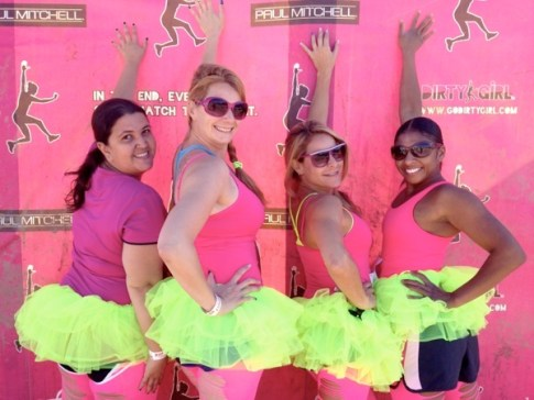 Dirty Girl Mud Run Group Pic