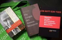 Jochen:Mein »Fang des Tages« am Indiebookday, Bücher von secession,Gollenstein Verlag und Open House sowie ein schöner Beutel vonGestalten.