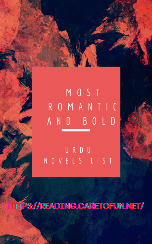most romantic and bold urdu novels list