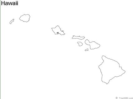 hawaii-outline