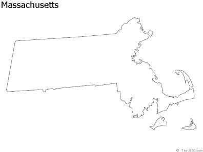 massachusetts-outline