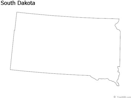 southdakota-outline