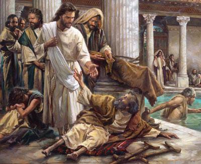 Jesus heals at Bethesda