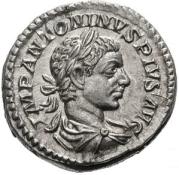 Denarius Fortuna Head
