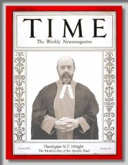 NT Wright on Time