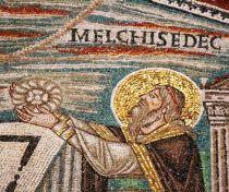 San Vitale basilica, Ravenna, Melchizedek