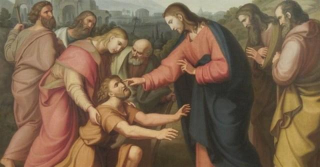 Jesus Heals a Blind Man