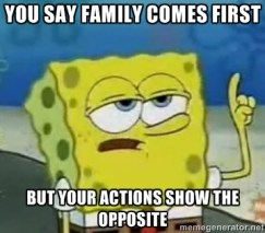 SpongeBob Family First
