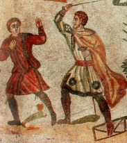 Roman Slave and Centurion