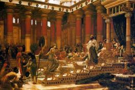 The Wisdom of Solomon, two prostitutes