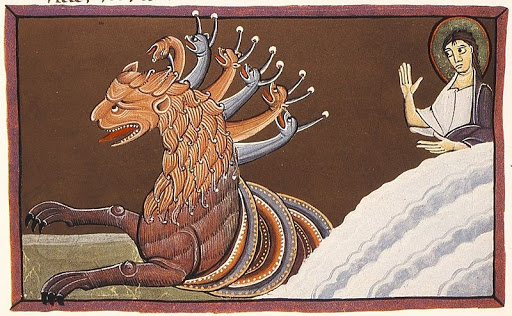 Dragon and Woman Revelation 12