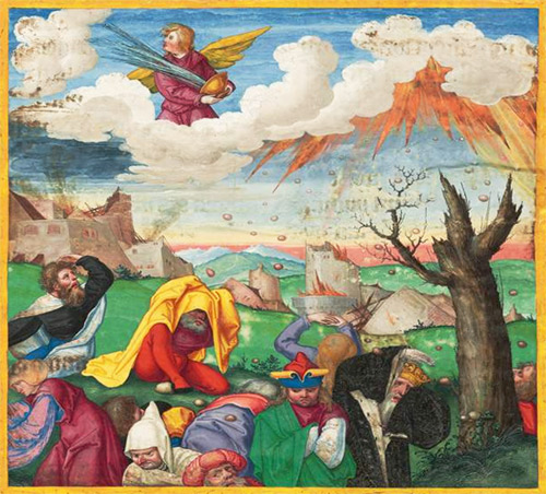 Revelation 16 Bowls of God's Wrath