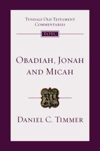 Timmer, Obadiah, Jonah, and Micah