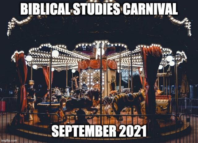Biblical Studies Carnival Sept 2021
