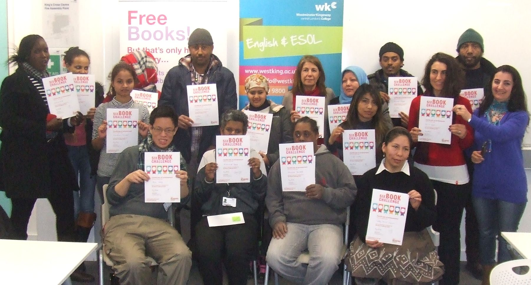 Esol Students Improve Their English Through The Six Book
