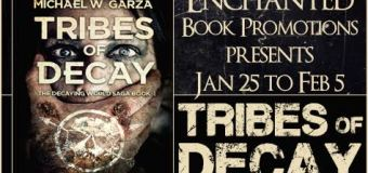 Release Day Blitz // Tribes of Decay