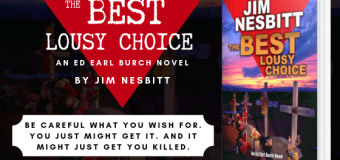 Guest Post // The Best Lousy Choice by Jim Nesbitt