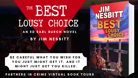 The Best Lousy Choice By Jim Nesbitt Tour Banner