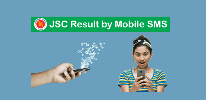 JSC Result by Mobile SMS