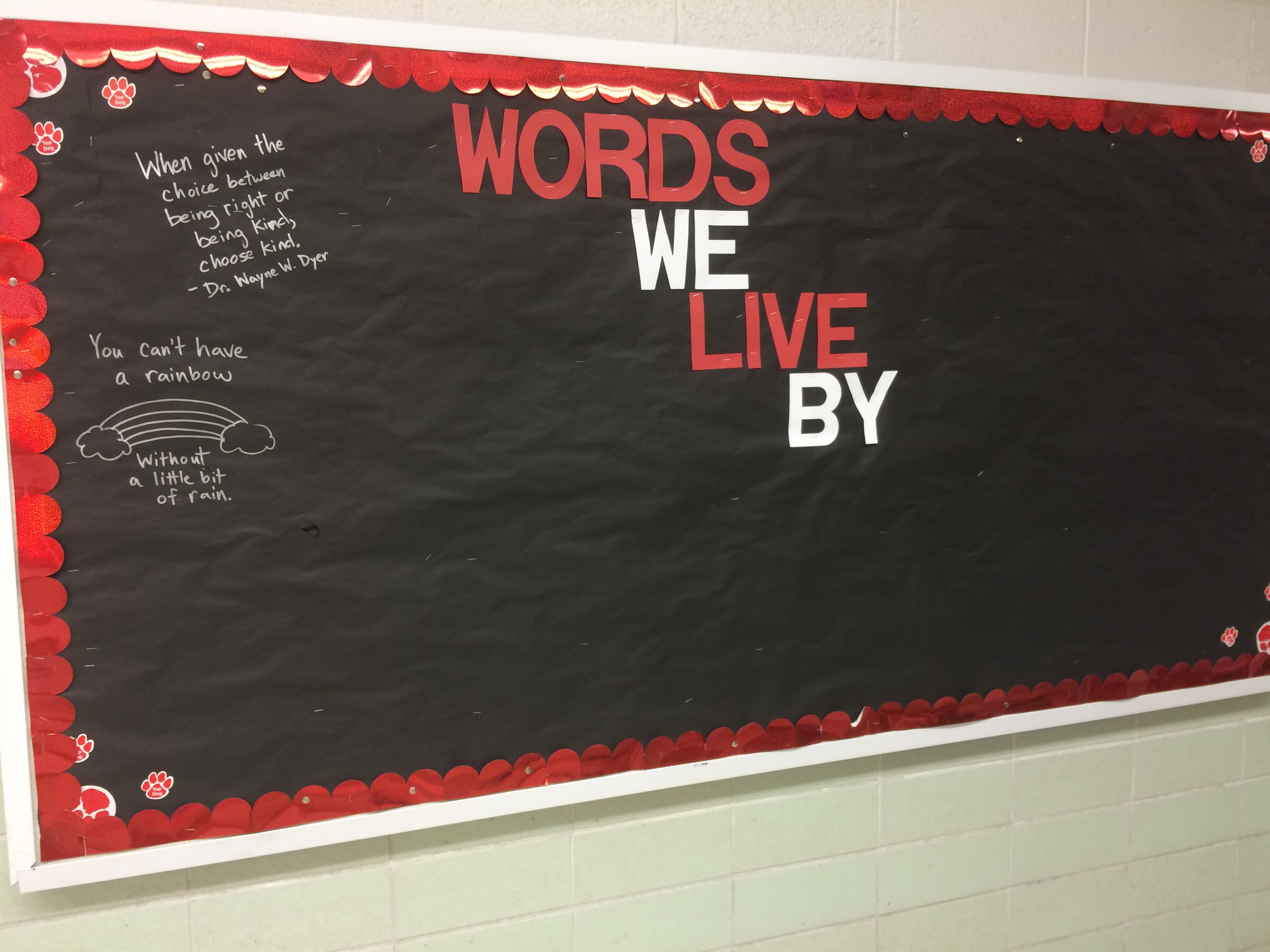 Using Mr  Brown's Precepts to Engage the School Community