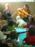 Anita Roy and Orlanda Ruthven enthrall us with their music and stories