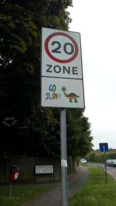 20mph limit in Southcote