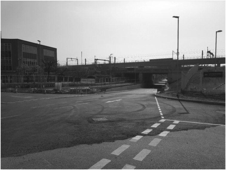 Underpass under the Railway