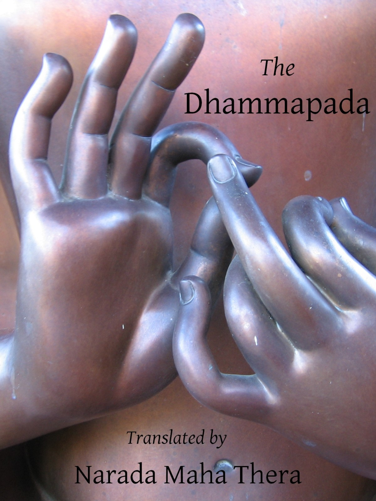 Cover of the Dhammapada translated by Narada Maha Thera