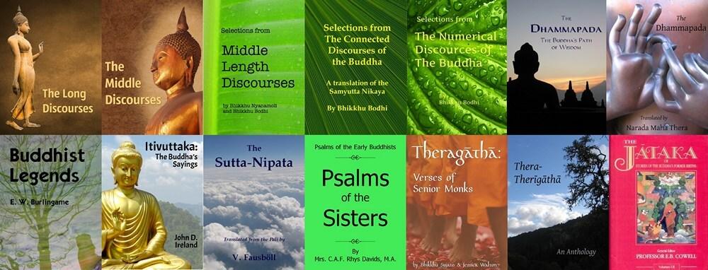 Sutta Pitaka e-books: epub, mobi, Kindle