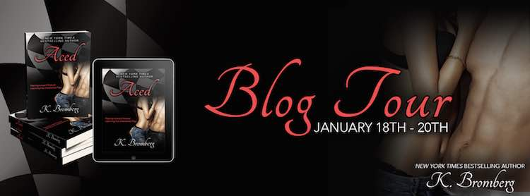 Blog Tour & Giveaway ♥ Aced by K. Bromberg