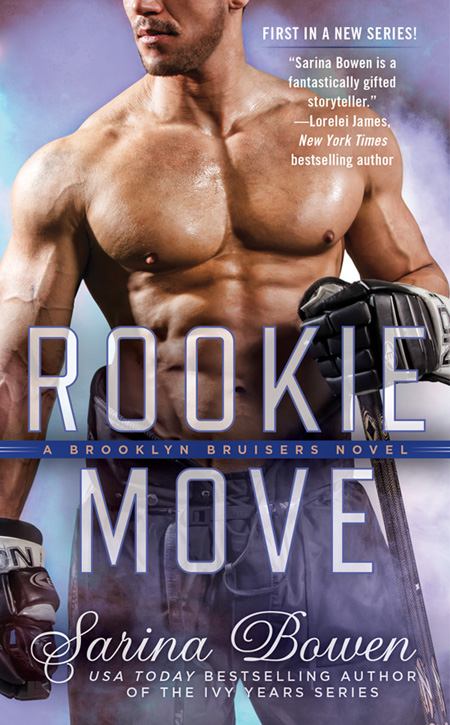 Cover Reveal ♥ Rookie Move by Sarina Bowen
