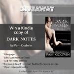 Dark Notes giveaway