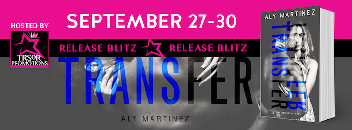 Blog Tour & Review ♥ Transfer by Aly Martinez