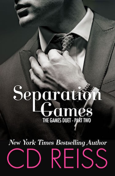 Cover Reveal ♥ Separation Games by CD Reiss