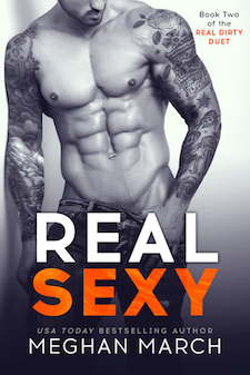Review & Blog Tour ♥ Real Sexy by Meghan March