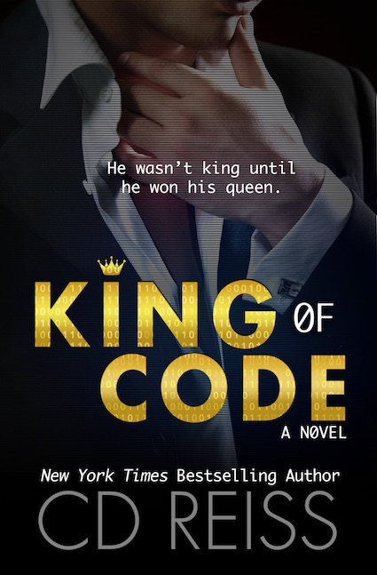 Cover Reveal ♥ King of Code by CD Reiss