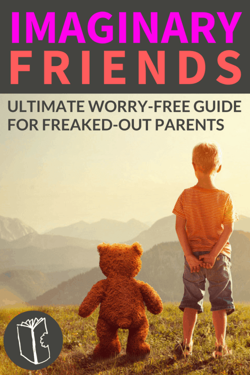 Think imaginary friends are weird or creepy? 7 reassuring reasons to roll out the red carpet when your child brings their IFs home to play + FREE printable keepsake interview.